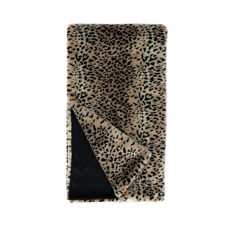 Signature Series Faux Fur Throw // Cheetah