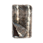 Limited Edition Faux Fur Throw // Cross Fox