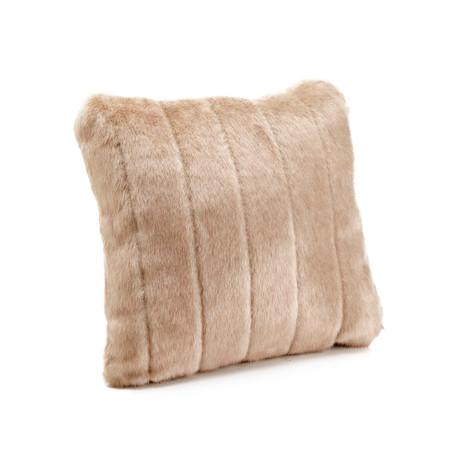 Signature Series Faux Fur Pillow // Vintage Mink