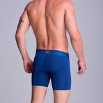 Microfiber F.E. Long Boxer // Electric Blue (S)