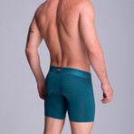 Microfiber F.E. Long Boxer // Military Green (XS)
