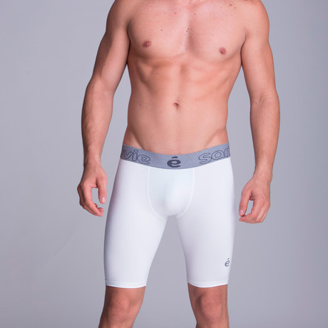 Extra Long Athletic Boxers // White (XS)
