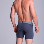 Long Full Mesh Boxer // Grey (XS)