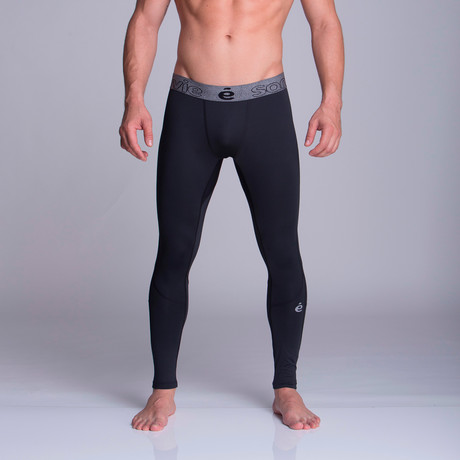 Long Athletic Pants // Black (S)