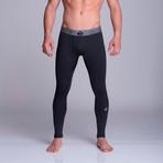 Long Athletic Pants // Black (S)