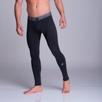 Long Athletic Pants // Black (XS)