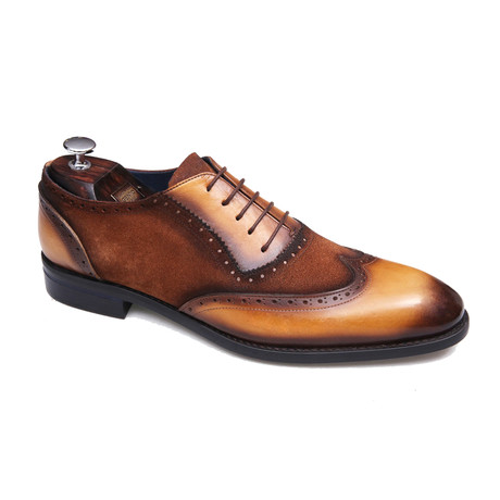 Thiago Shoe // Light Brown + Brown (Euro: 40)