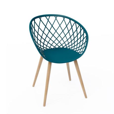 Kurv Chair // Set of 2 (Black)