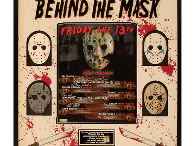 "Photo of Piece Of The Past Rare FIlm + Television Collectibles Friday The 13Th // ""Behind the Mask"" // Signed by Touch Of Modern"