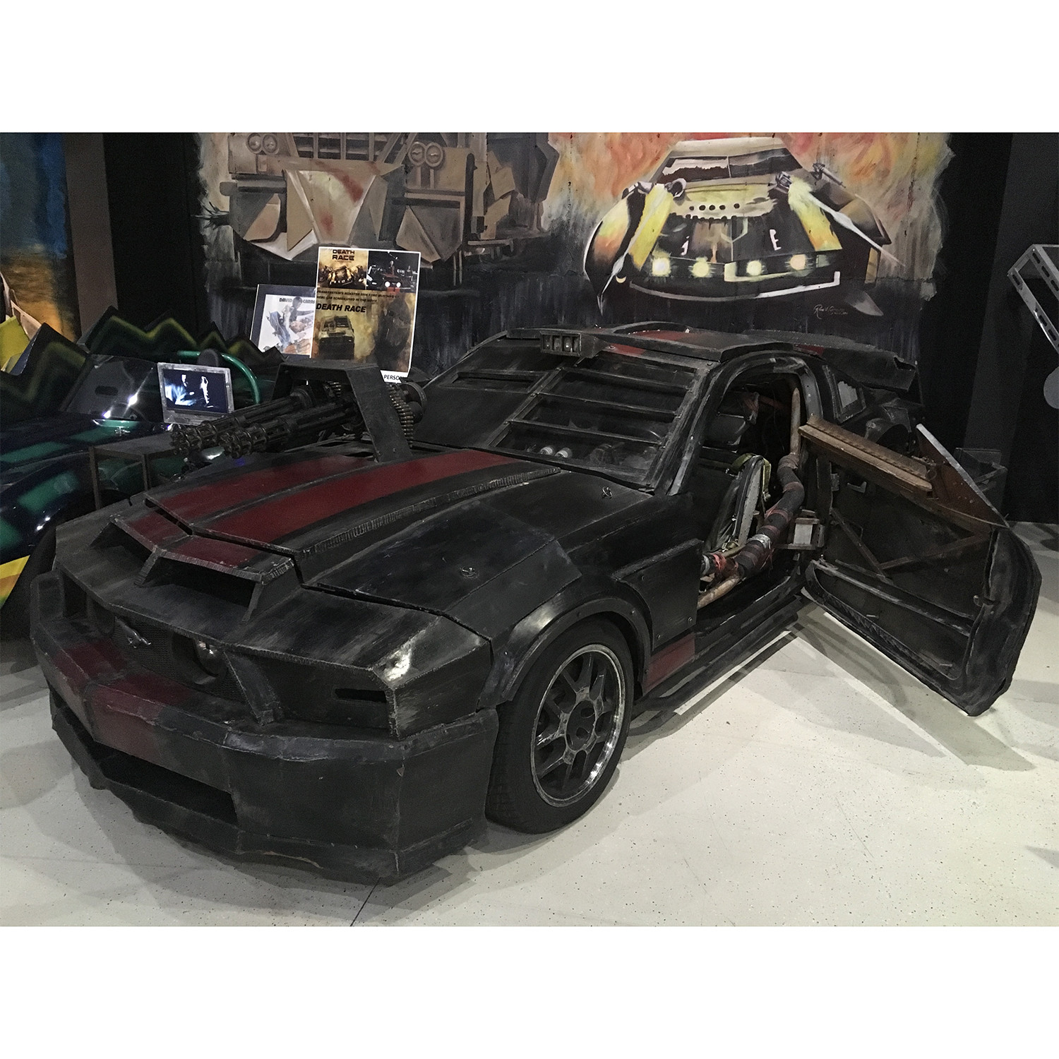 Death Race Original 2006 Mustang Gt Car Piece Of The Past Touch Of Modern