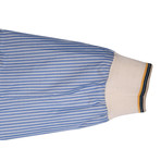 2-Tone Baseball Jacket // Blue (M)