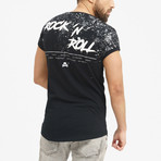 Skull Rock T-Shirt // Black (XL)