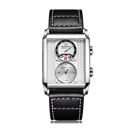 Marvin Malton 160 Rectangular Flying Hour Quartz // M024.14.21.64
