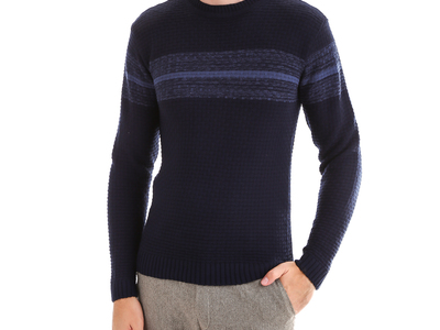 Photo of CLEARANCE: Outerwear We've Got You Covered Wool Sweater // Navy (M) by Touch Of Modern