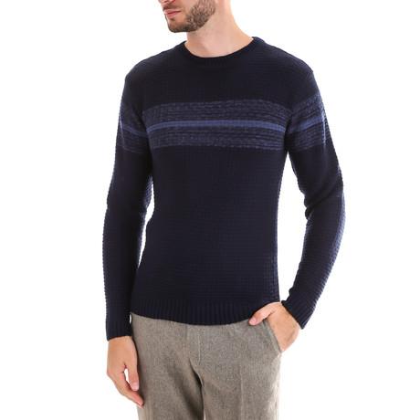 Wool Sweater // Navy (M)