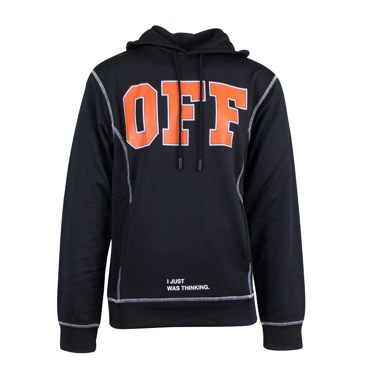 93e357a66c Off White    Off Hoodie    Black Orange (XS) - OFF White - Touch of ...