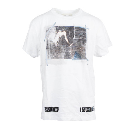 Off White // Caravaggio T-Shirt // White Multicolor (L)