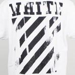 Off White // Caravaggio T-Shirt // White Multicolor (L)