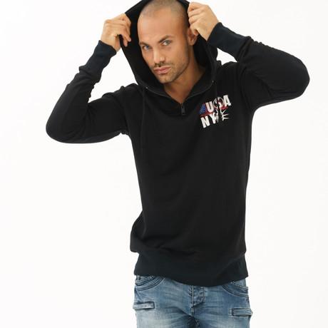 Statue of Liberty Sweatshirt // Black (S)