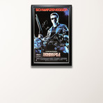 Signed Movie Poster // Terminator 2
