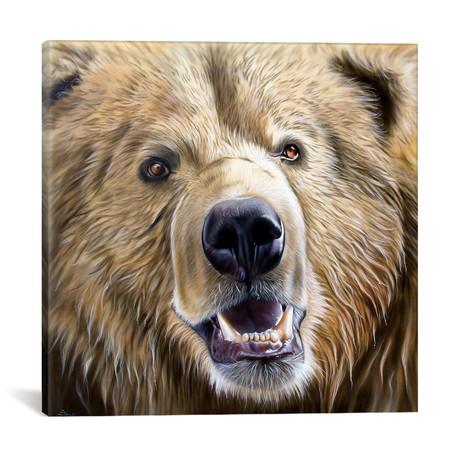 "Brown Bear (18""W x 18""H x 0.75""D)"