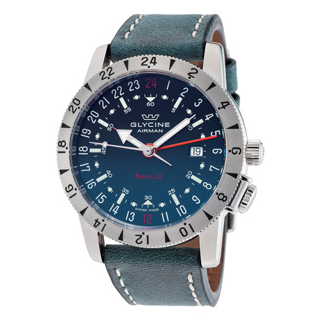 Glycine Airman Base 22 GMT Automatic // GL0203