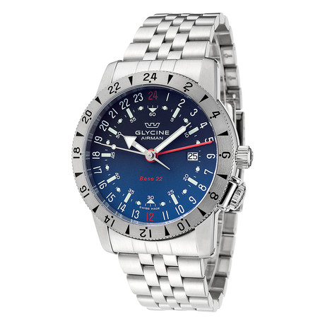 Glycine Airman Base 22 GMT Automatic // GL0205