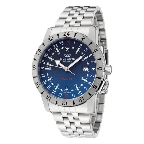 Glycine Airman Base 22 Purist Automatic // GL0206