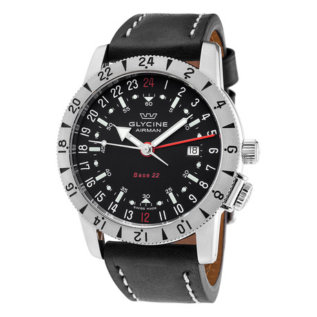 Glycine Airman Base 22 GMT Automatic // GL0207