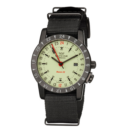 Glycine Airman Base 22 GMT Automatic // GL0213