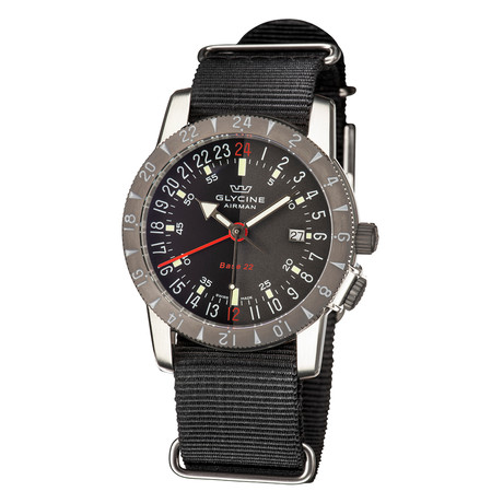 Glycine Airman Base 22 GMT Automatic // GL0211