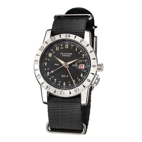 Glycine Airman 1953 Vintage GMT Automatic // GL0218