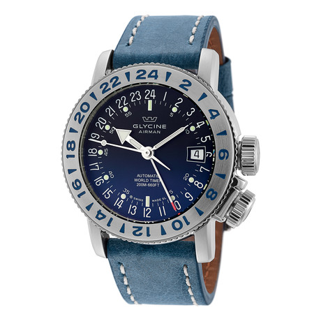 Glycine Airman 18 GMT Automatic // GL0221