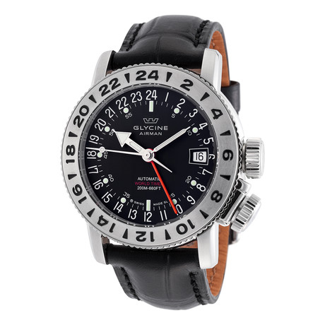 Glycine Airman 18 GMT Automatic // GL0226