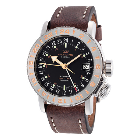 Glycine Airman 18 GMT Automatic // GL0229
