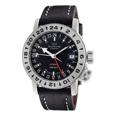 Glycine Airman 18 GMT Automatic // GL0225