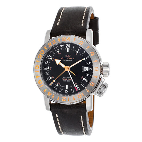 Glycine Airman 18 GMT Automatic // GL0230