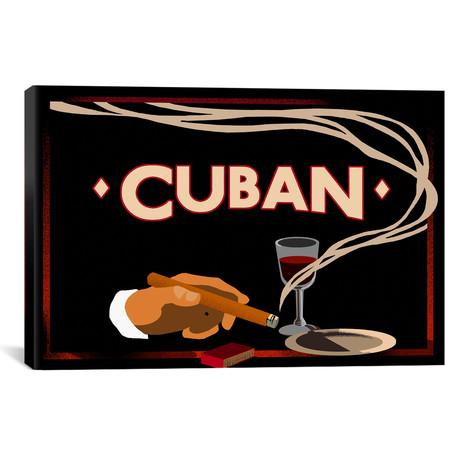 """Cuban // Vintage Apple Collection (40""""W x 26""""H x 1.5""""D)"""