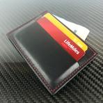 Card Holder (Black + Red)