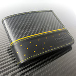 Super Carrera Wallet (Black + Yellow)