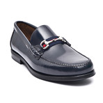 Patent Loafer + Ornate Buckle // Midnight (Euro: 44)