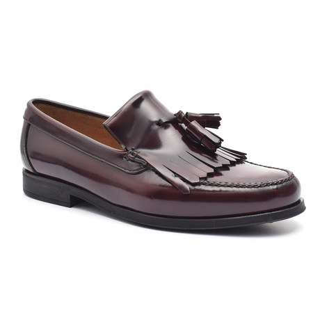 Tassel Loafer // Bordeaux (Euro: 38)