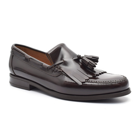 Patent Tassel Loafer III // Brown (Euro: 38)