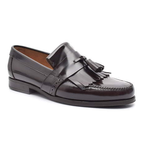 Patent Tassel Loafer // Brown (Euro: 38)