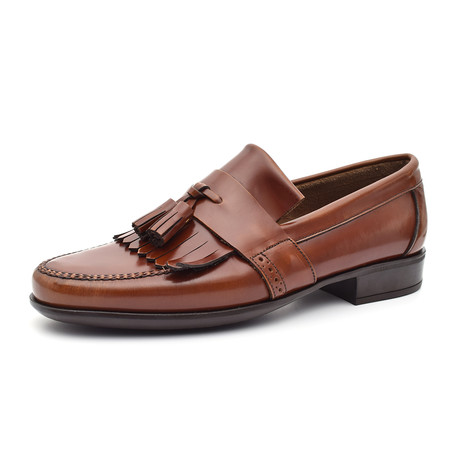 Patent Tassel Loafer // Leather (Euro: 38)