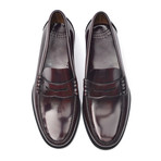 Patent Slit-Strap Loafer // Bordeaux (Euro: 44)