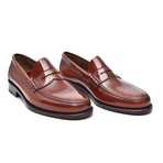 Patent Slip-Strap Loafer // Cognac (Euro: 46)