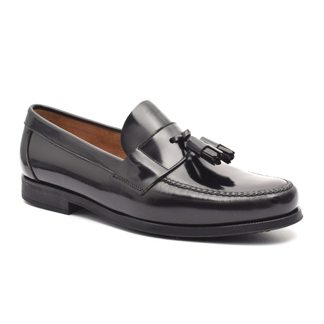 Patent Tassel Loafer // Black (Euro: 38)