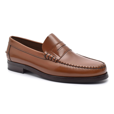 Slit-Strap Loafer II // Leather (Euro: 38)