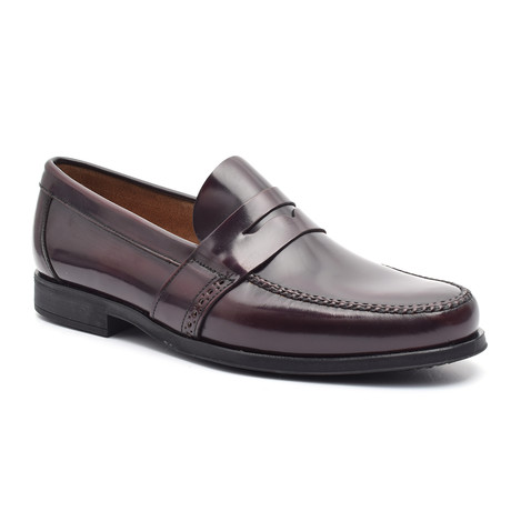 Patent Loafer // Bordeaux (Euro: 38)